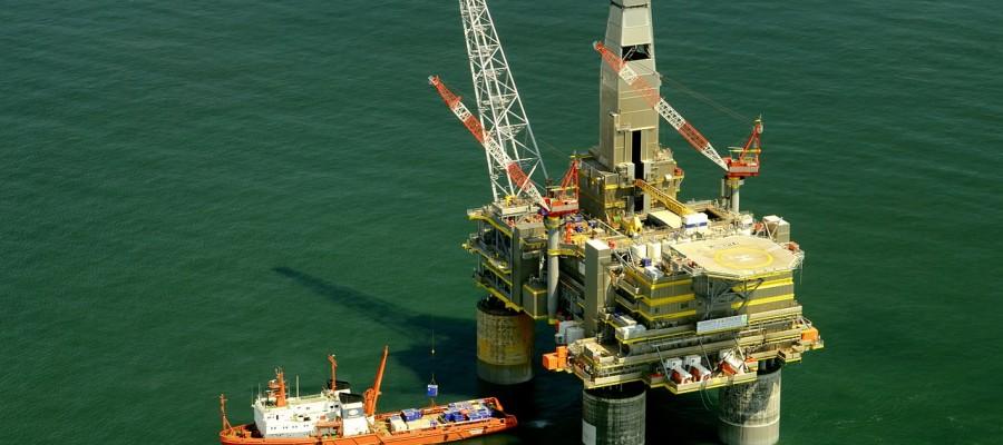 Russian oil rig